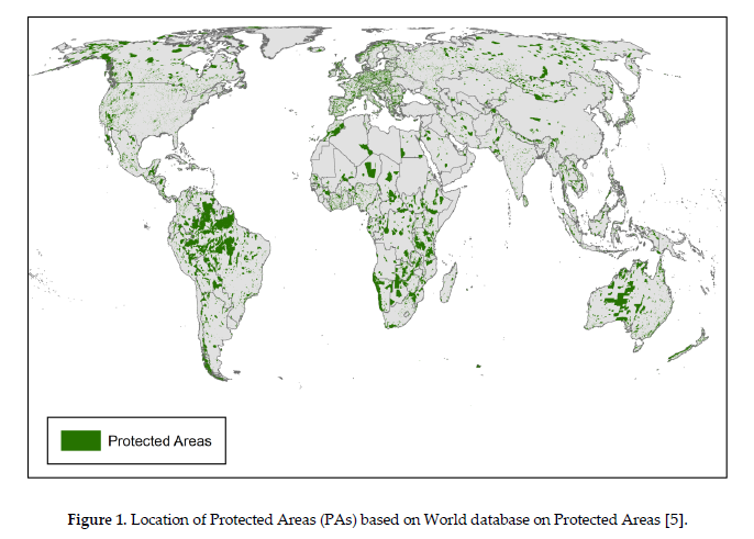 Forrest Protected Areas - World Database