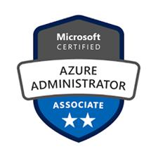 Microsoft Certified Azure Administrator Associate logo