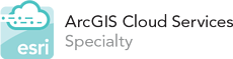ESRI-ArcGIS-cloud-services-specialty-logo