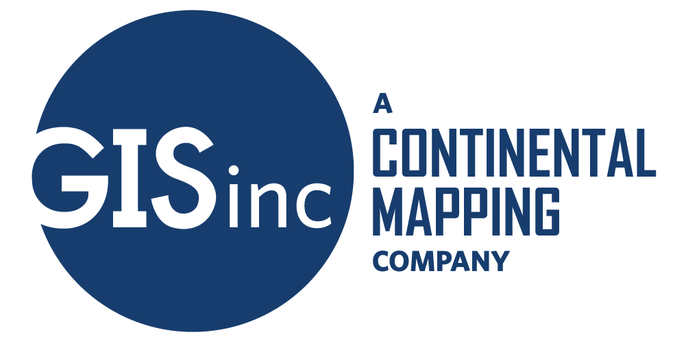 GISinc - A Continental Mapping Company Logo - Final - CMYK - Blue