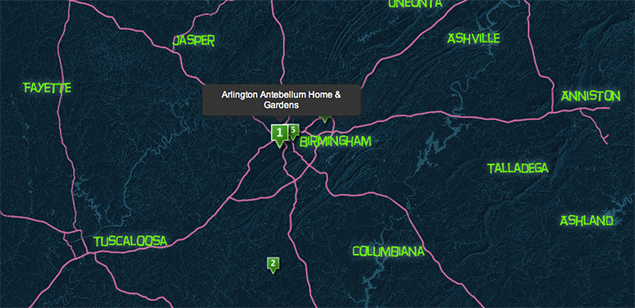 The Haunted Birmingham Alabama Story Map - Part Two