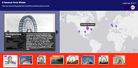 ferris story map