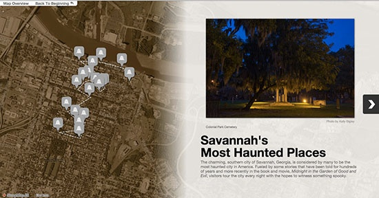 haunted savannah