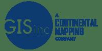 GISinc - A Continental Mapping Company Logo - Blue