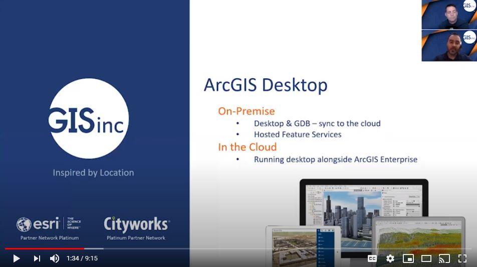 ArcGIS Enterprise - Desktop in the Cloud