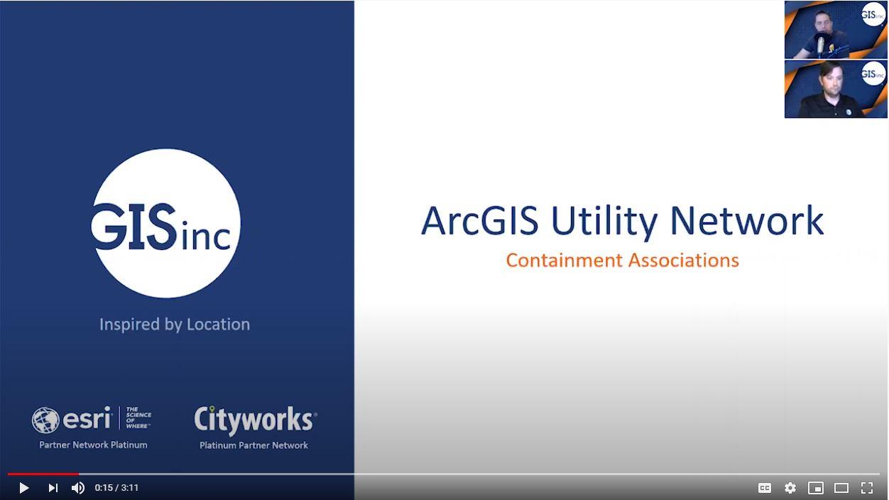 ArcGIS Utility Network Management - Containment Associations