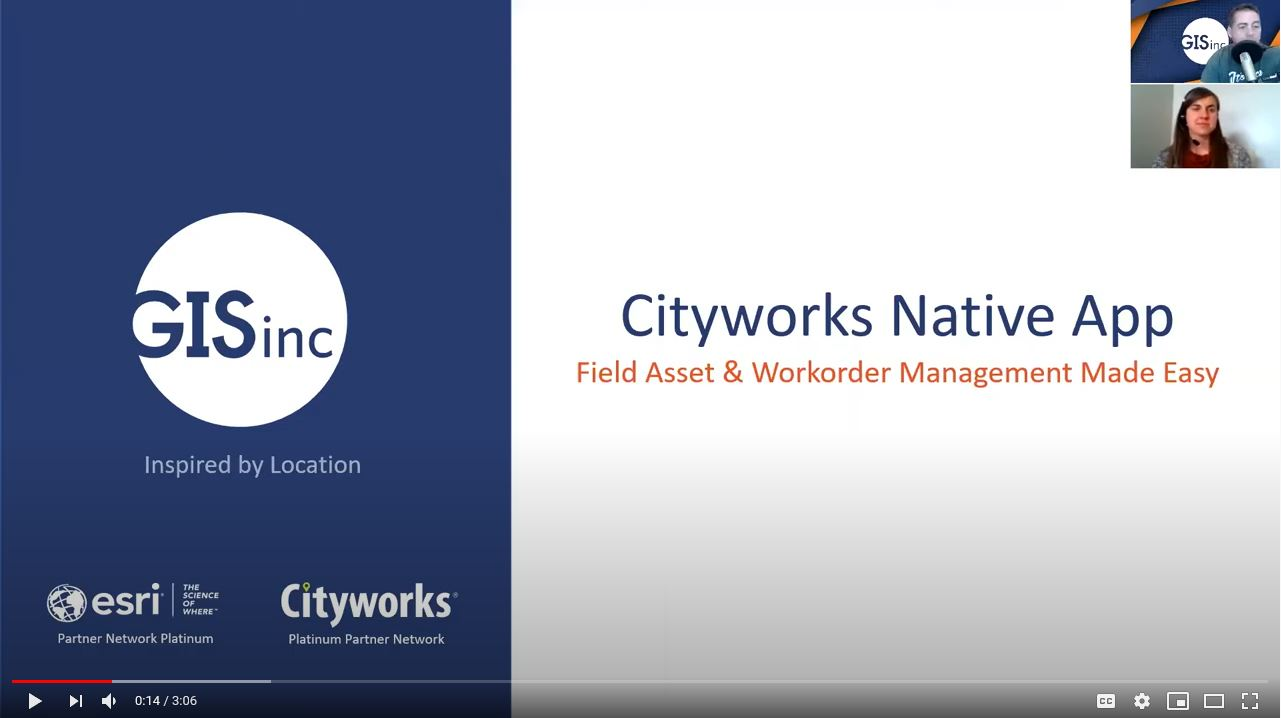 Cityworks Native App - Field Asset & Work Order Management Made Easy