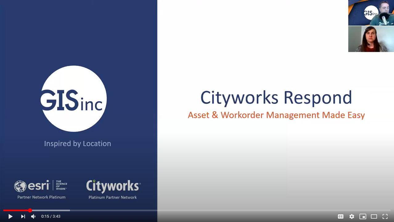 Cityworks Respond: Asset & Work Order Management Made Easy
