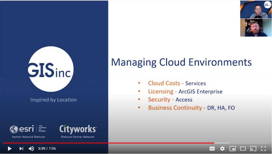 ArcGIS Enterprise - Cloud Management Tools