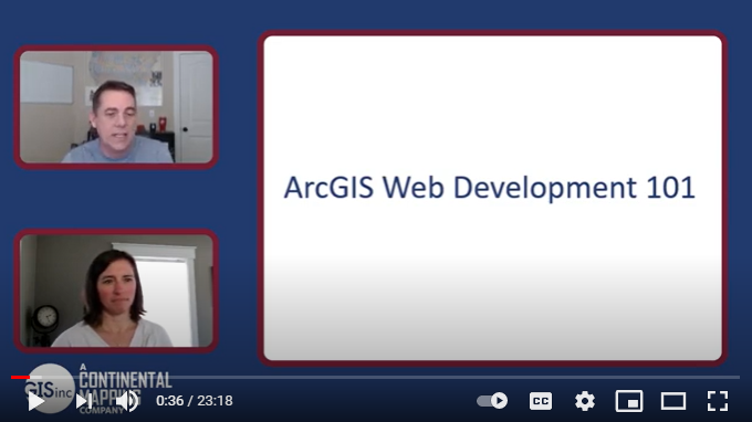 GISinc Tutorial: ArcGIS Web Development 101