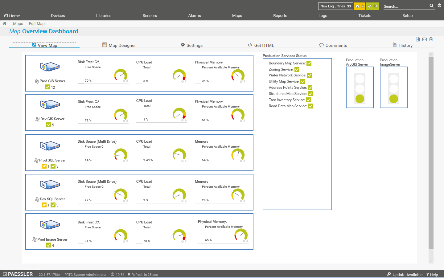 Monitoring the Health of ArcGIS Enterprise