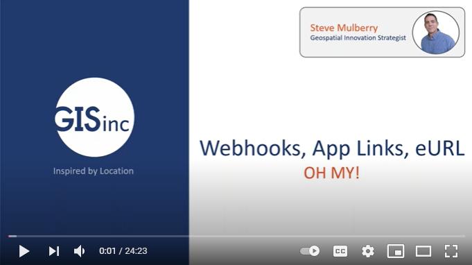 Training VLOG: Webhooks - AppLinks - eURLs
