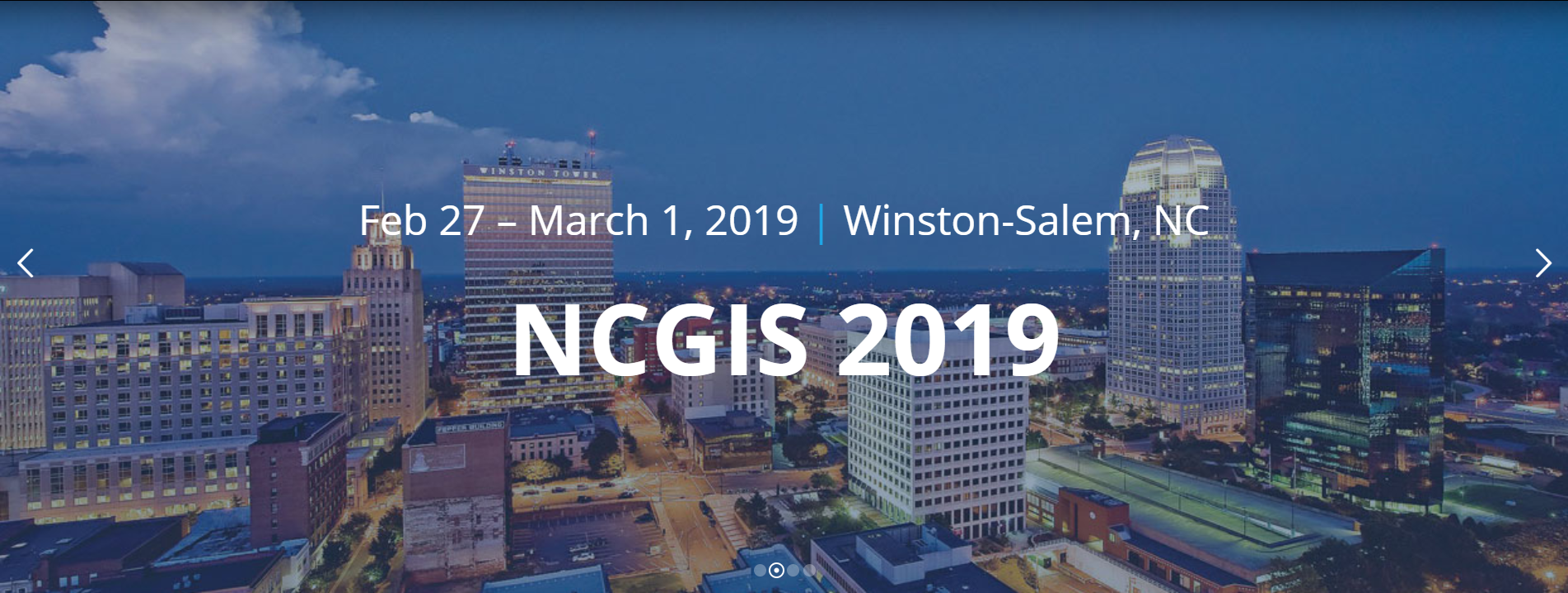 NCGIS email header image