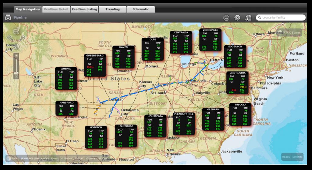 SCADA Integration for Gas Utility Company
