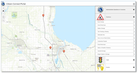Road Commission Leverages Cityworks and Esri for Asset Management and Citizen Engagement