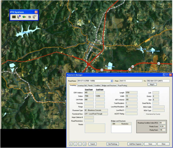 GeoTrans: Pavement Management System