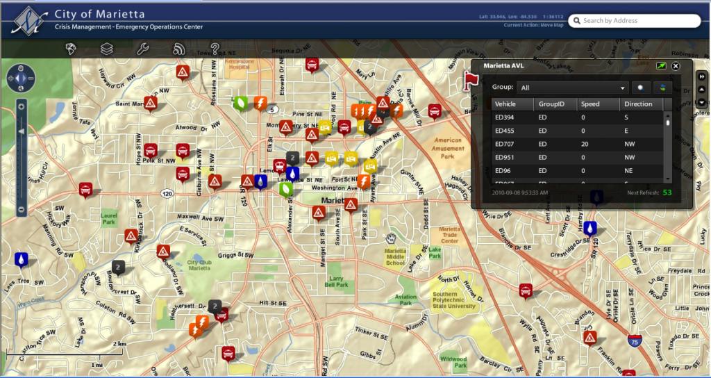 GIS Crisis Management System